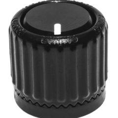 Loknob™ – 3/4″ OD, Black ABS Plastic