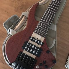 Wing Bass NT 5-String 18″ Scale Custom – IN STOCK
