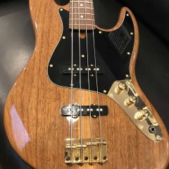 M Basses MJ-4 Walnut Limited! – IN STOCK
